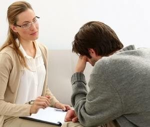 прием у психотерапевта