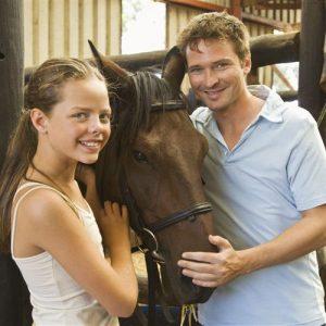 Общение с лошадьми помогает побороть гиппофобию
