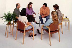 обсуждение фобии в групповой терапии
