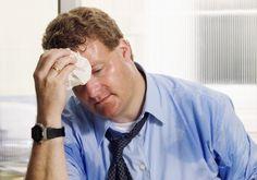 потоотделение — один из симптомов фобии