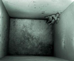 человек с фобией переживает панику
