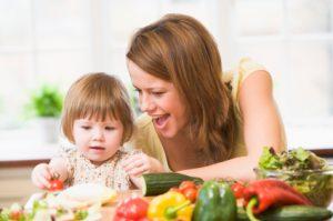 обучение ребенка позитивному восприятию еды
