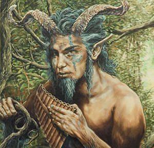 Пан — гибрид человека и зверя,который является агентомпаническогостраха
