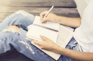 записывание позитивных мыслей