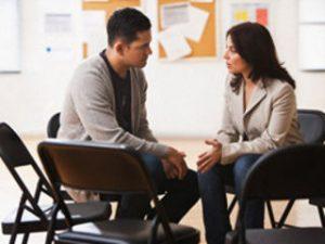 сеанс разговорной терапии