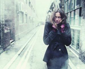 Люди со страхом к снегу