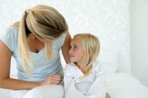 Родителям необходимо успокоить ребенка