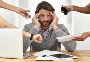 человека подстерегает множество стрессов