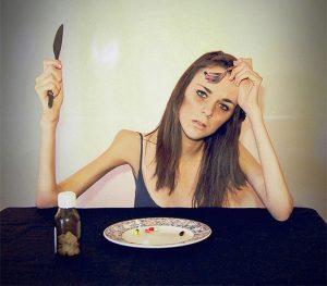 самоконтроль - отличительная черта анорексии
