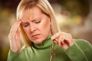 головокружение - симптом панической атаки