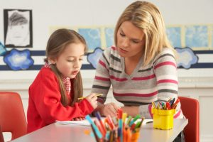 ребенок у психолога