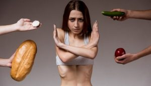 контроль веса при анорексии