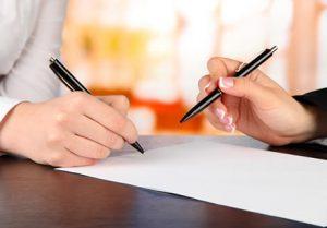 подисание терапевтического контракта