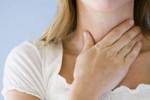 комок в горле - проявление тревоги