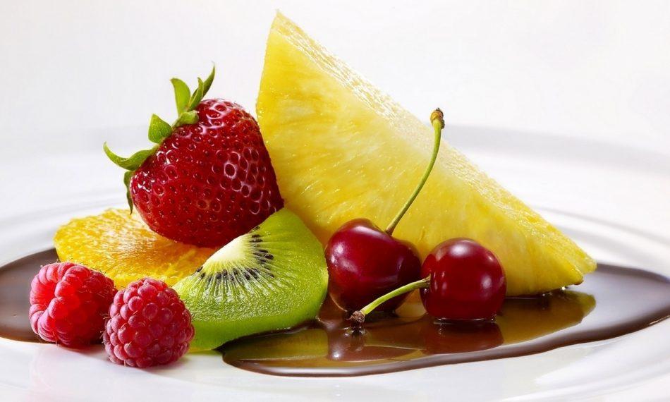 добавление фруктов в рацион