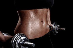 пот, вызванный физическими упражнениями
